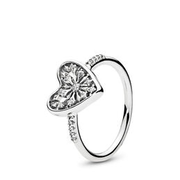Winter-Herz Ring, Sterling-Silber, Kein anderes Material, Keine Farbe, Cubic Zirkonia - PANDORA - #196371CZ