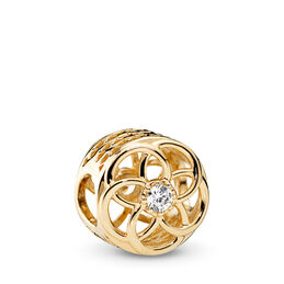 Loving Bloom, 14-K-Gold, Kein anderes Material, Keine Farbe, Cubic Zirkonia - PANDORA - #750598CZ