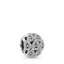 Funkelnde Formen Charm, Sterling-Silber, Kein anderes Material, Keine Farbe, Cubic Zirkonia - PANDORA - #796271CZ