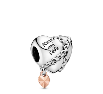 Chained Heart Charm