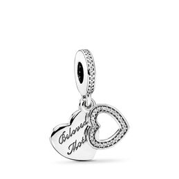 Beloved Mother Charm, Sterling-Silber, Kein anderes Material, Keine Farbe, Cubic Zirkonia - PANDORA - #791883CZ