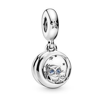 Always by Your Side Owl Charm-Anhänger