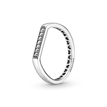 Funkelnder Stacking-Ring