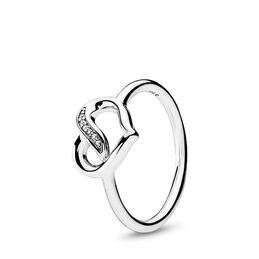 Liebesband Ring, Sterling-Silber, Kein anderes Material, Keine Farbe, Cubic Zirkonia - PANDORA - #191022CZ